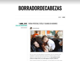 borradordecabezas.wordpress.com screenshot