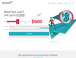 borrowjet.com screenshot