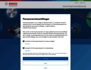 bosch-extranet.no screenshot