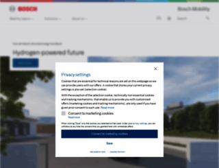 bosch-mobility-solutions.com screenshot