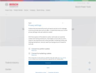 bosch-pt.com.my screenshot