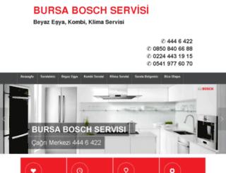 boschservis-bursa.com screenshot