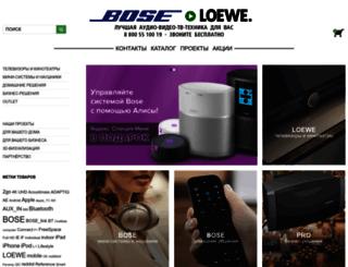 bose-loewe.com screenshot