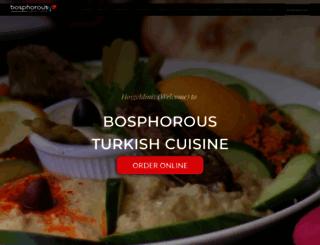 bosphorousrestaurant.com screenshot