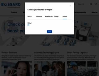 bossard.com screenshot