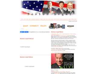boston-legal.org screenshot
