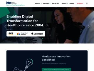 boston-technology.com screenshot