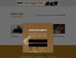 bostonmamas.com screenshot