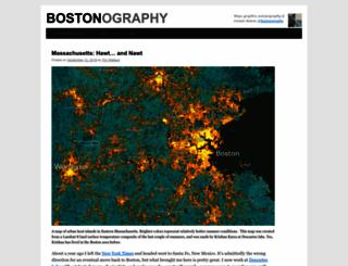 bostonography.com screenshot