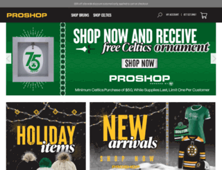 bostonproshop.com screenshot