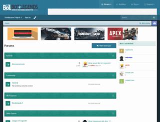 botoflegends.com screenshot