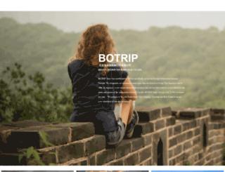 botrip.com screenshot