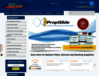 bottompaintstore.com screenshot
