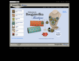bougainvilleaboutique.com screenshot