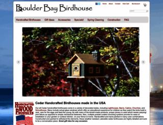 boulderbaybirdhouse.com screenshot