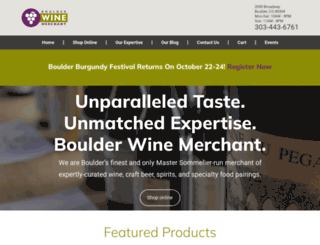 boulderwine.com screenshot