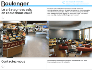 boulenger.fr screenshot