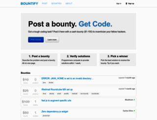 bountify.co screenshot