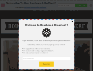 bourbonandbroadleaf.com screenshot