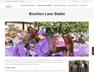 bourbonlanestable.com screenshot