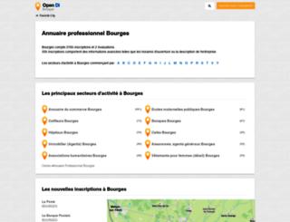 bourges.opendi.fr screenshot