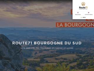 bourgogne-du-sud.com screenshot