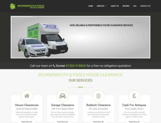 bournemouthandpoolehouseclearance.com screenshot