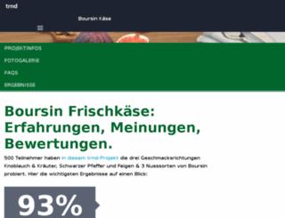boursin-kaese.trnd.com screenshot