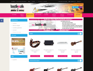boutikazik.com screenshot