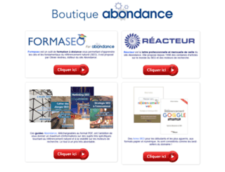 boutique-abondance.com screenshot