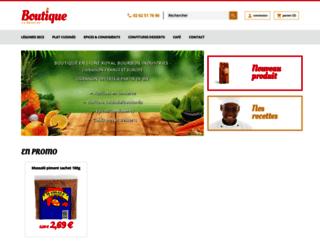 boutique-la-reunion.com screenshot