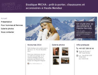boutique-micha.ch screenshot