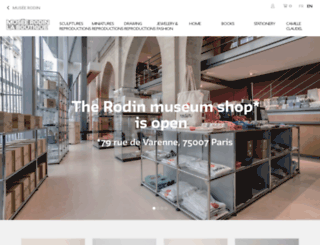 boutique-musee-rodin.fr screenshot