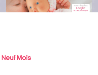 boutique.neufmois.fr screenshot