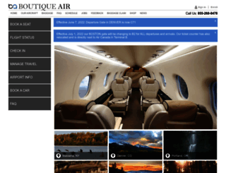 boutiqueair.com screenshot