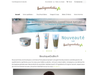 boutiquedubio.fr screenshot