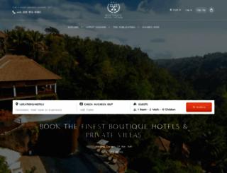 boutiquehotelawards.com screenshot