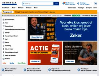 bouwmaat.nl screenshot