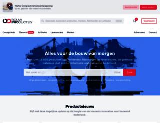 bouwproducten.nl screenshot