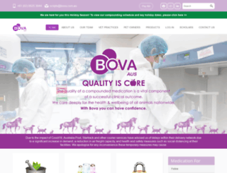 bovacompounding.com.au screenshot