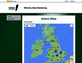bowlerenergy.solarlog-web.co.uk screenshot