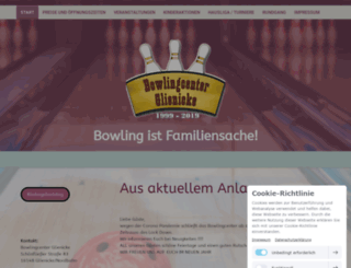 bowlingcenter-glienicke.de screenshot