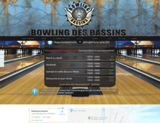 bowlingdesbassins.be screenshot