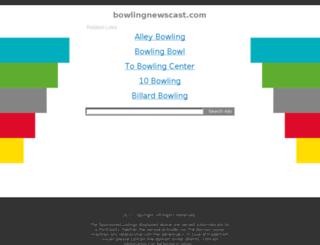bowlingnewscast.com screenshot