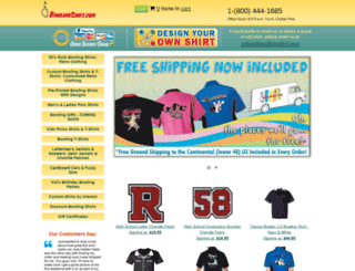 bowlingshirt.com screenshot