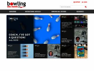 bowlingthismonth.com screenshot