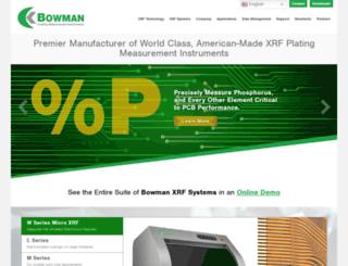 bowmananalytics.com screenshot