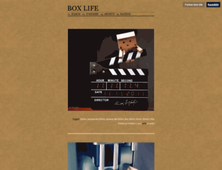 box-life.tumblr.com screenshot