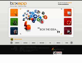 boxapp.admicro.vn screenshot