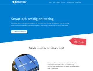 boxbuddy.se screenshot